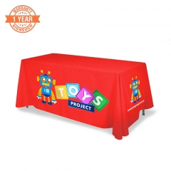 6ft Custom Table Covers with Printing (Standard)