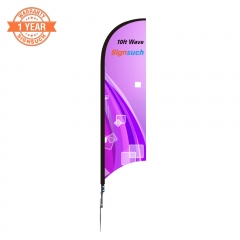 Wave 10FT Custom Feather Flags Kits with Printing